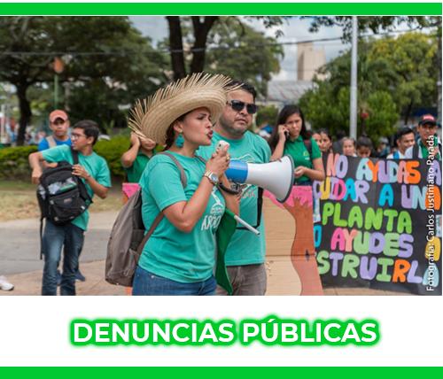DENUNCIAS PÚBLICAS - Colectivo Árbol