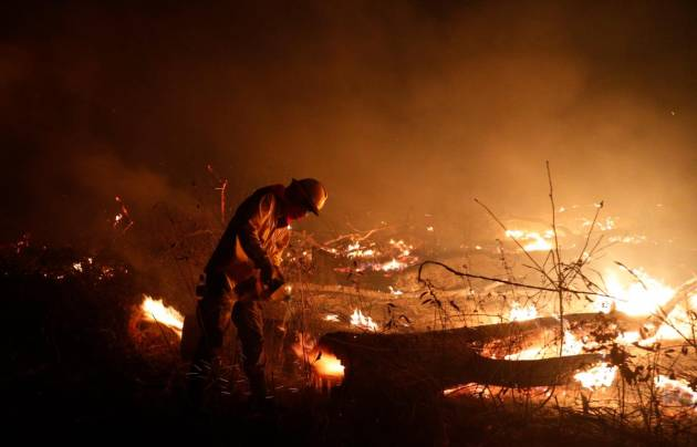 Incendios forestales en Bolivia - Foto AP/ Juan Karita