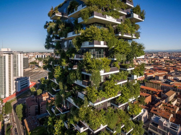 Jardín vertical en Milán