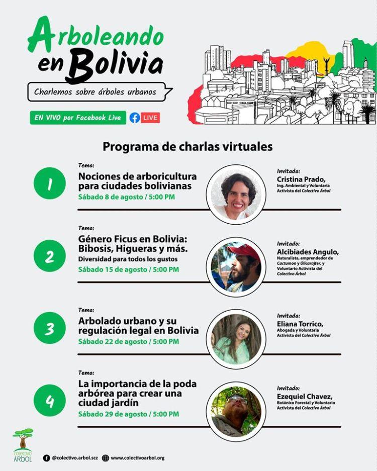 Arboleando Bolivia - Charlemos sobre árboles