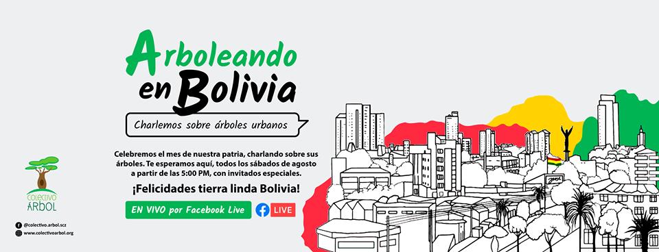 arboleando en bolivia ciclo de charlas sobre árboles urbanos